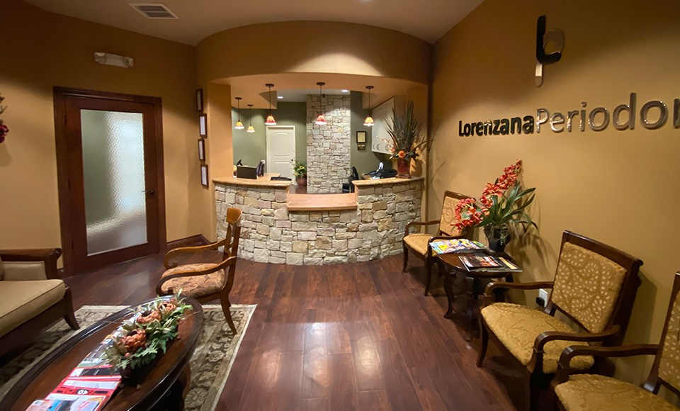 Periodontal office front desk